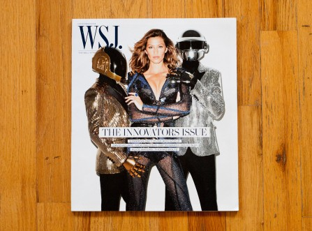 Gisele Bundchen & Daft Punk by Terry Richardson