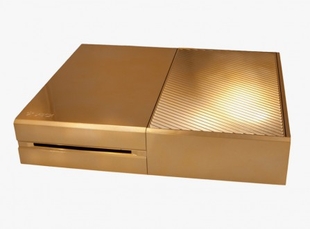 Xbox One Plaquée or 24 carats