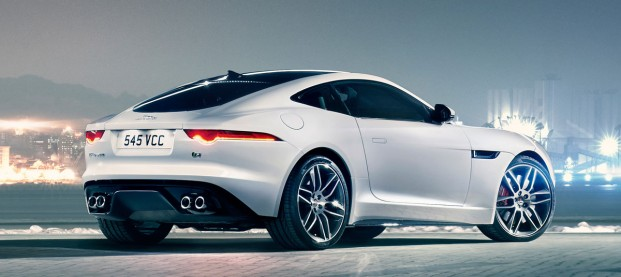 Jaguar F-Type Coupé « British Villains »