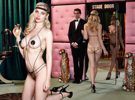 Agent Provocateur Fall/Winter 2014 Campaign